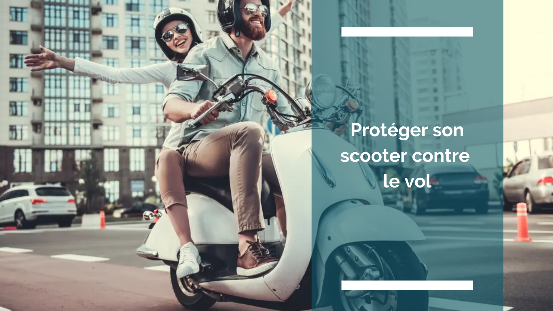 Visuel de l'article : protéger son scooter contre le vol