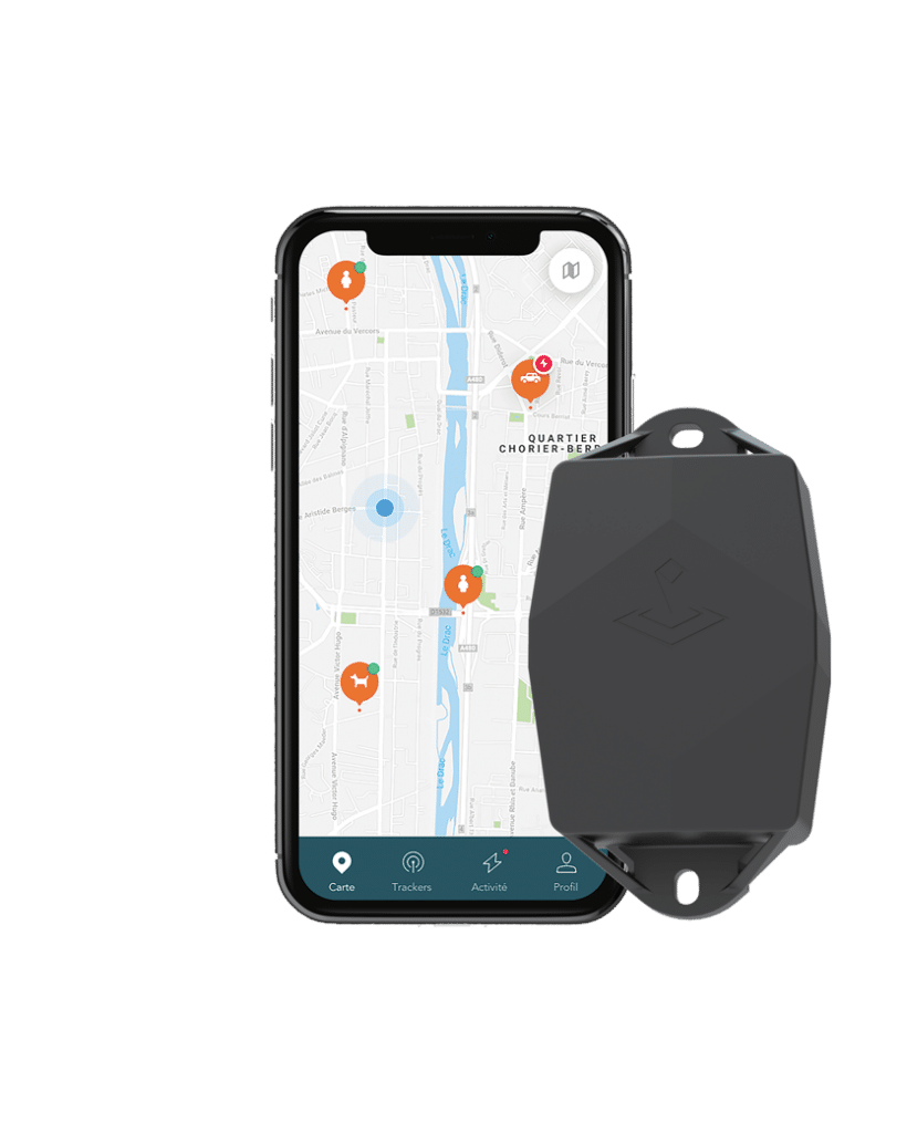 Application et traceur GPS trakmy