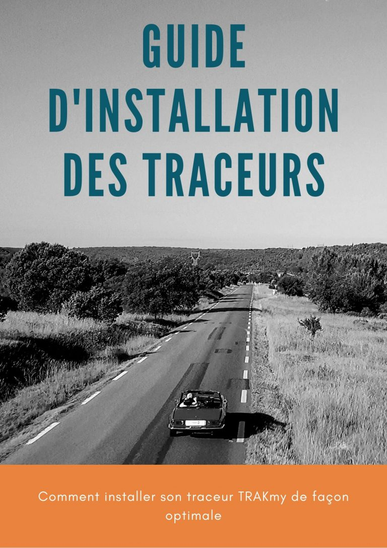 Photo du guide d'installation des traceurs