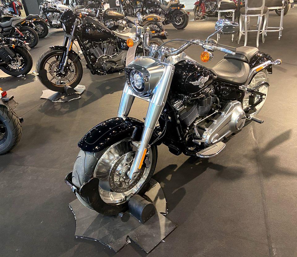 Photo d'une moto du Salon du 2 Roues de Lyon