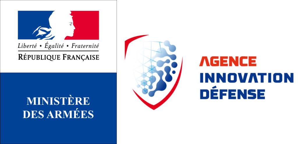photo du logo du ministère des armées et de l'agence innovation défense