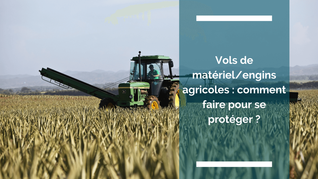 photo d'un engin agricole dans un champ