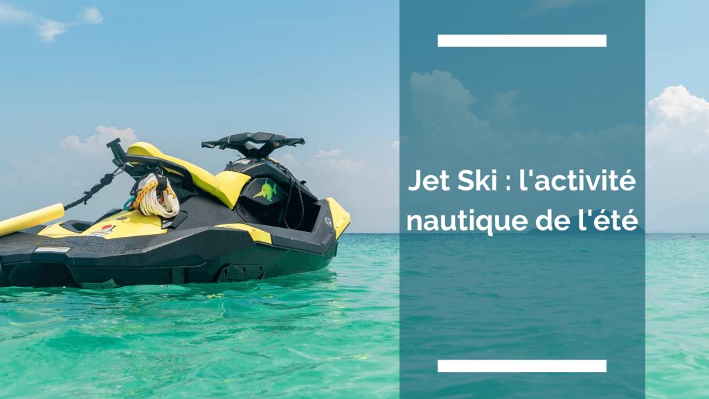 photo d'un jet ski