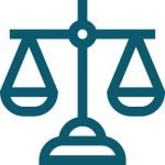 icone de la balance de la justice