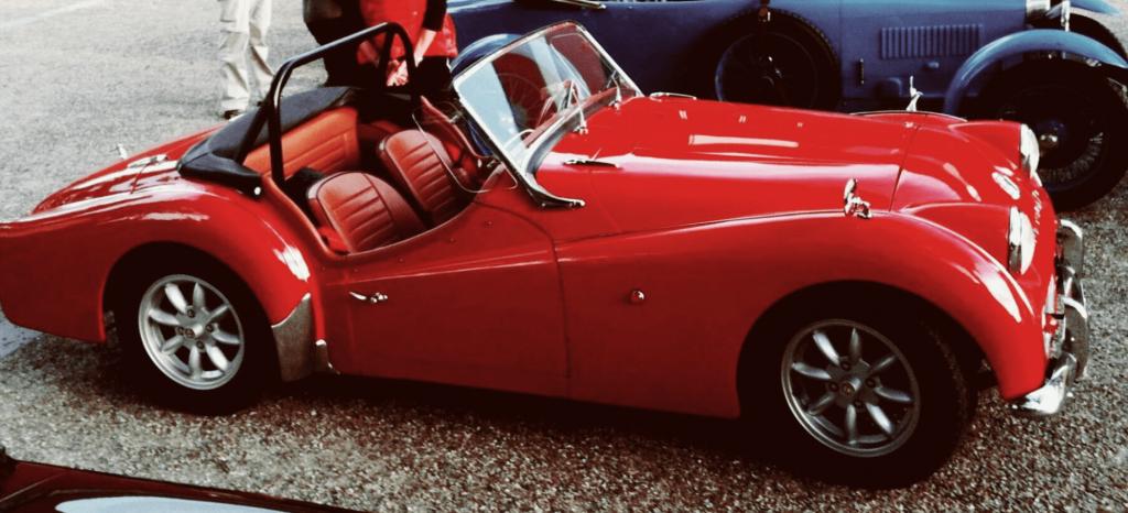 Photo de la voiture de Bruno, équipée d'un traceur GPS TRAKmy
