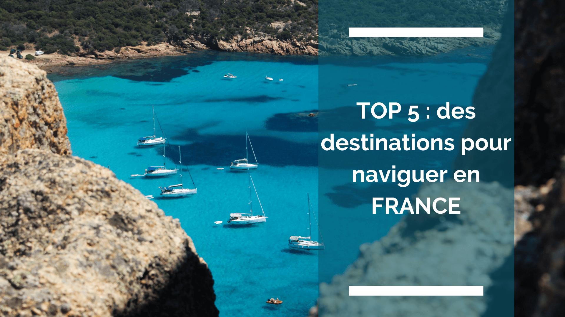 Photo d'une vue en Corse, endroit idé pour naviguer en bateau