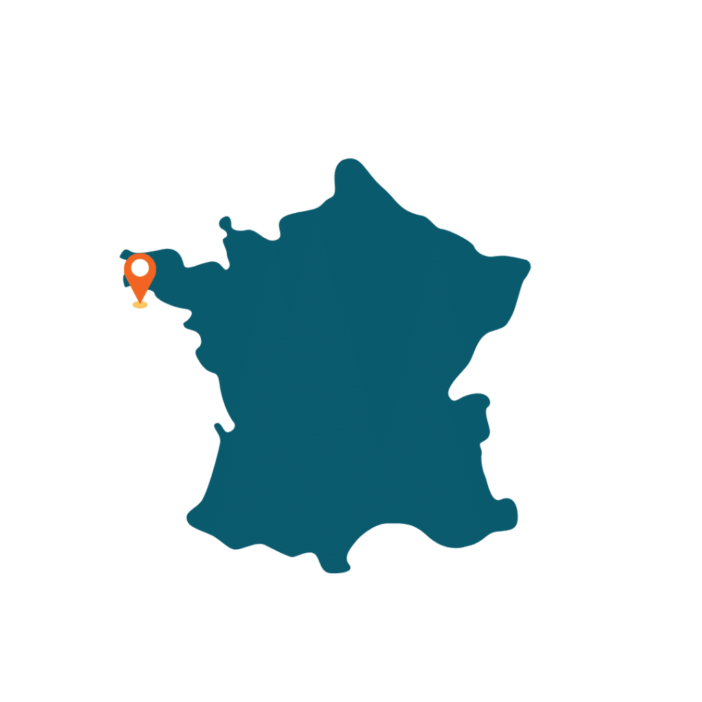 carte de la france avec localisation de l'endroit
